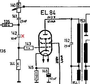 ProblemKondensator als Koppelkondensator                 zur Endröhre