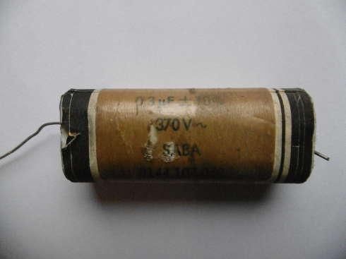 Saba Motor                 Kondensator 0.3uF