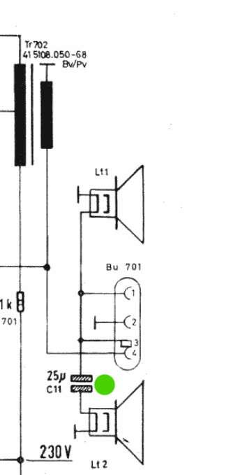 Tonfrequenz-Kondensator